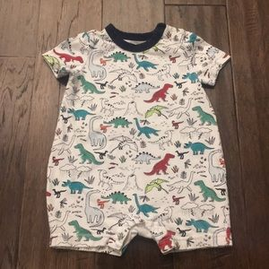 GAP Dinosaur Print One Piece Outfit